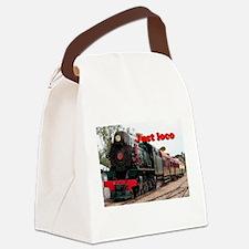 Just loco: Pichi Richi steam engi Canvas Lunch Bag