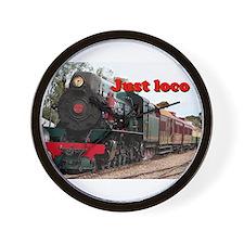 Just loco: Pichi Richi steam engine, Au Wall Clock