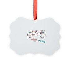 Double Trouble Ornament