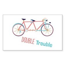 Double Trouble Decal