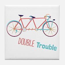 Double Trouble Tile Coaster