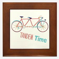 Tandem Time Framed Tile