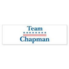 Team Chapman Bumper Bumper Sticker