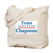 Team Chapman Tote Bag