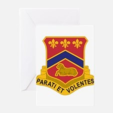 123 Field Artillery Regiment.psd Greeting Cards
