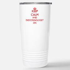 Keep Calm and Endocrino Travel Mug