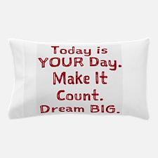 Make It Count Pillow Case