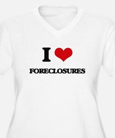 I Love Foreclosures Plus Size T-Shirt