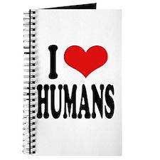 I Love Humans Journal