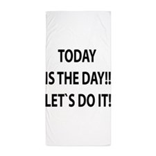 Let`s do it! Beach Towel