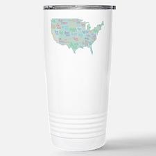 State Mottos Stainless Steel Travel Mug