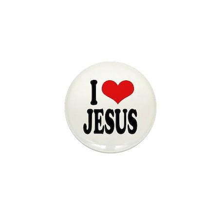 I Love Jesus Mini Button (10 pack)