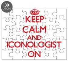 Keep Calm and Iconologist ON Puzzle