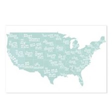 State Mottos Postcards (Package of 8)