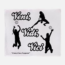 VENI-VIDI-VICI Throw Blanket