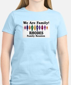 RHODES reunion (we are family T-Shirt