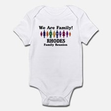RHODES reunion (we are family Infant Bodysuit