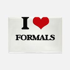 I Love Formals Magnets