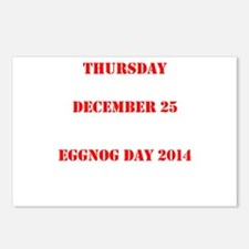 Eggnog Day Postcards (Package of 8)