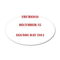Eggnog Day Wall Decal