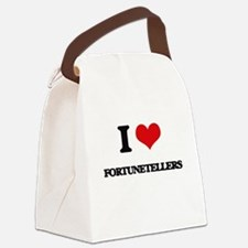 I Love Fortunetellers Canvas Lunch Bag