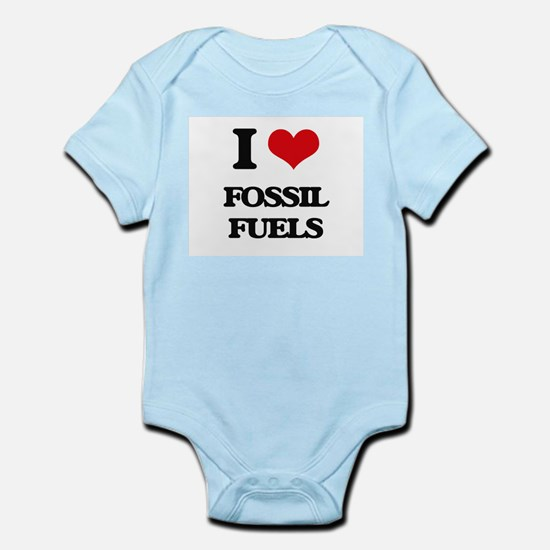I Love Fossil Fuels Body Suit
