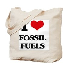 I Love Fossil Fuels Tote Bag
