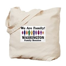 WASHINGTON reunion (we are fa Tote Bag