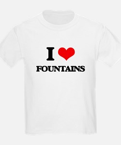 I Love Fountains T-Shirt