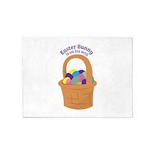Easter Bunny 5'x7'Area Rug