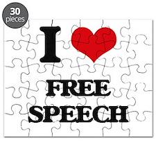 I Love Free Speech Puzzle