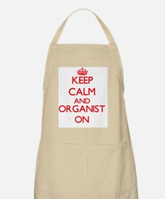 Keep Calm and Organist ON Apron