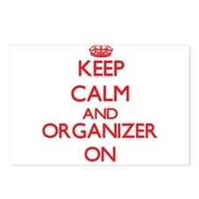 Keep Calm and Organizer O Postcards (Package of 8)