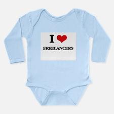 I Love Freelancers Body Suit