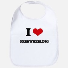 I Love Freewheeling Bib