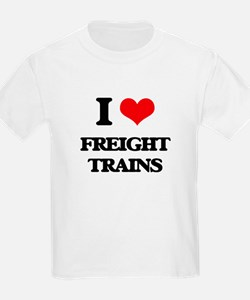 I Love Freight Trains T-Shirt
