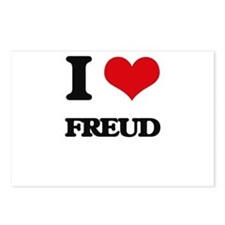 I Love Freud Postcards (Package of 8)