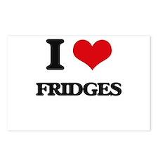 I Love Fridges Postcards (Package of 8)