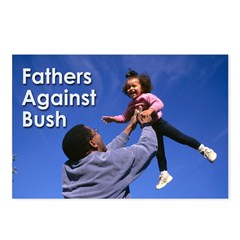 Fathers Against Bush Postcards (Pack of 8)