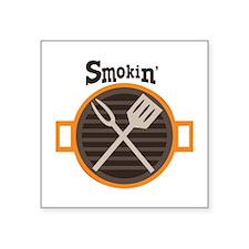 Smokin BBQ Sticker