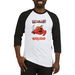 Crabby Pirate Baseball Jersey