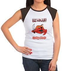 Crabby Pirate Women's Cap Sleeve T-Shirt