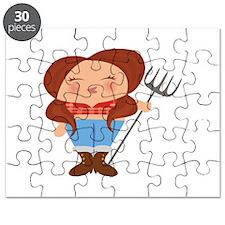 Farmer Girl Puzzle