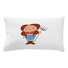 Farmer Girl Pillow Case