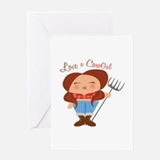 CowGal Greeting Cards