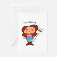 Hay There Greeting Cards