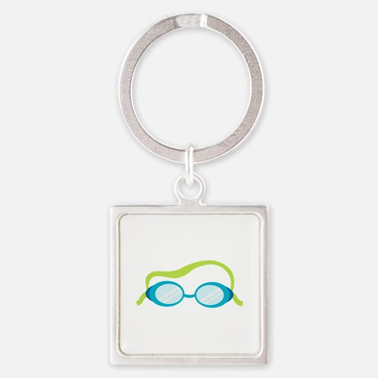 Swimming Goggles Keychains