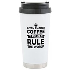Given Enough Coffee Stainless Steel Travel Mug