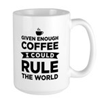 Given Enough Coffee Large Mug Mugs
