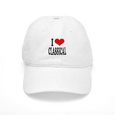 I Love Classical Baseball Cap